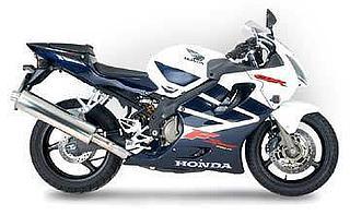 Honda CBR 600F 2002.
