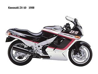 Kawasaki GPX 750R Ninja