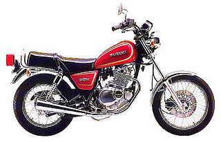 Suzuki GN 250 1991