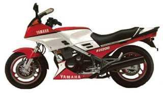 Yamaha FJ1200 85-86