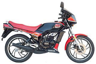 Yamaha RD 75LC 1991