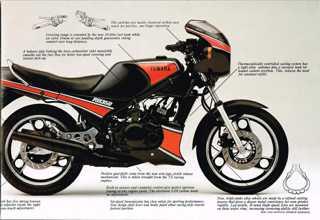 Yamaha RD350 85-86