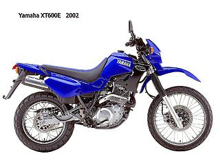 Yamaha XT 600E 2002